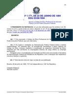 Decreto No 1.171- De 22 de Junho de 1994