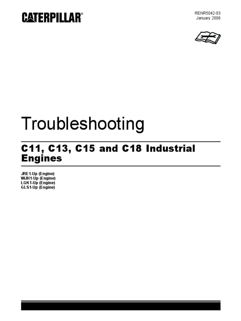 RENR5042 C11 C13 Troubleshooting | Fuel Injection | Throttle