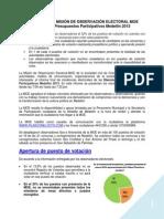 Informe MOE PP