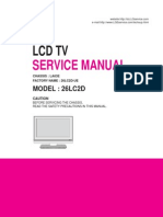 Manual de Servicio TV LCD LG Modelo 26LC2D-UE