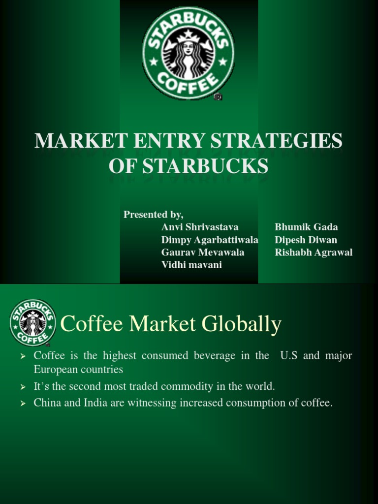 how is starbucks now segmenting and targeting the coffee market