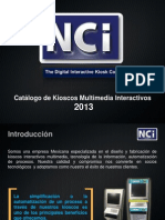 Catalogo Kioscos Interactivos Multimedia _NCI 2013 v3.3