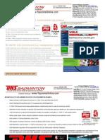 Dhs Badminton Catalog