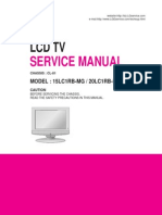 Manual de Servicio TV Lcd LG Modelos 15LC1R Y 20LC1RB-MG