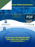 Doctor Patient Raltionship IMC2008