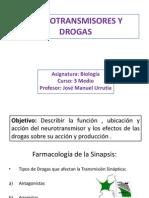 Clase de Drogas y su Acción en el sistema nervioso 3 medio