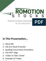 PrePromo PSC2013 Presentation