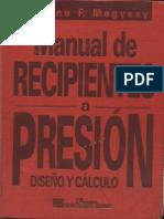 Pressure Vessel Manual de Recipientes a Presion-Megyesy