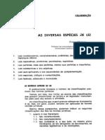 As Diversas Especies de Leis No Brasil