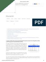 Inversión en educación _ CODENI