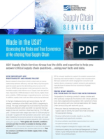 SES - Supply Chain Re-Shoring