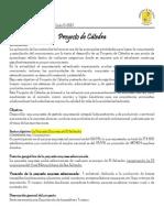 Proyecto de Catedra Ciclo II 2013