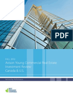 Avison Young's Fall 2013 Canada, U.S. Commercial Real Estate Investment Review