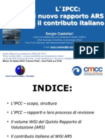 Castellari - Ipcc AR5 Il Nuovo Rapporto e Il Contributo Italiano