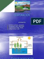 exposición de hidro evaporizacion