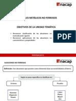 UNIDAD TEMÁTICA III  ALEACIONES NO FERROSAS