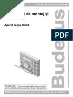 Instructiuni de Montaj Si Service RC20