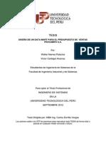 Tesis Presupuesto de Ventas II V13