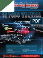 Revista VI Foro Técnico 2013, Juan Bosco de Huánuco