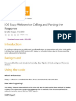 iOS Soap Webservice Calling and Parsing the Response