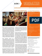 ICCO Centroamerica Newsletter Sept 2013