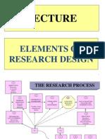 Lecture Research Design
