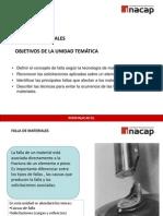 UNIDAD TEMÁTICA VI  FALLA DE MATERIALES