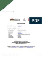 PDRM Receipt