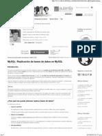 MySQL_ Replicación de bases de datos en MySQL