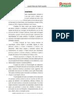 Questões de Língua Portuguesa - Pontuação  - 3