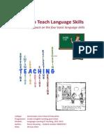 How to Teach Language Skills - A Teaching Pack on the Four Basic Language Skills