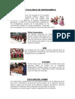 MÚSICA FOLKLÓRICA DE CENTROAMÉRICA