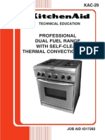 KitchenAid KAC-29  Job Aid