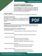 100913 HerramientasComunicacionales Programa