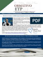 Informativo Enfrentamento ao Tráfico Humano nº 15 - Setembro de 2013
