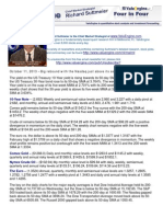 October 11, 2013 – Big rebound with the Nasdaq just above its semiannual pivot at 3759