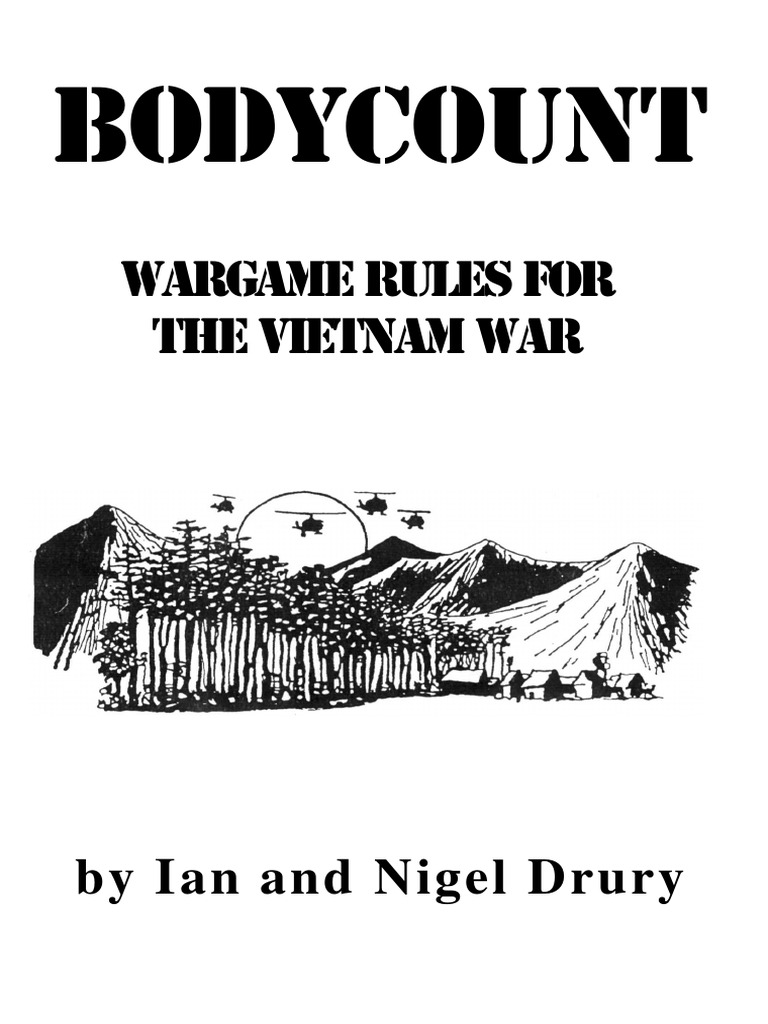Ttg - Bodycount Vietnam Wargame Rules   Vietnam War   Viet Cong