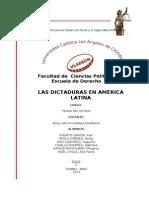 Dictaduras en America Latina1