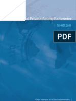 Global Private Equity Barometer Summer 2008 - Coller Capital