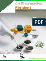 Guide du pharmacien résident 2011 2012