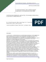 Diagnóstico de la leishmaniasis de la observación  microscópica del parásitoa la detección del ADN
