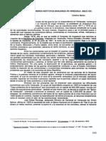 La Fundación de los Primeros Institutos Bancarios en Venezuela. Siglo XIX.pdf