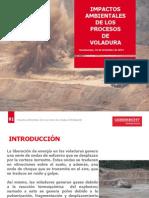 Impactos Ambientales de los Porocesos de Perforación y voladura
