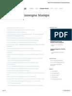 Rassegna Stampa 2013 | Andrea Speziali