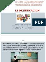 Clases d Educacion