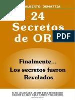 Reporte 24 Secretos de ORO