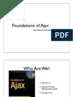 Foundations of Ajax
