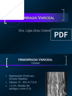 Hemorragia Variceal