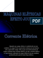 Máquinas Elétricas Efeito Joule
