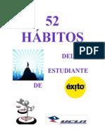 52 Habitos Del Estudiante de Exito